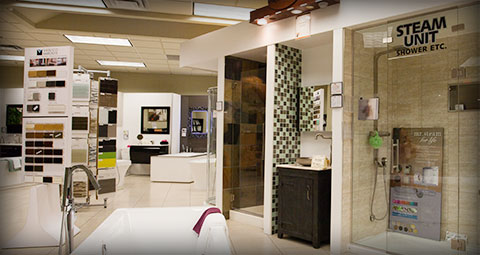 Photo of preston Hardware's bathroom design centre in Ottawa