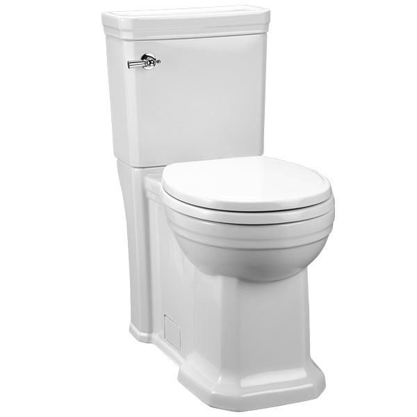Fitzgerald Two Piece Round Front Toilet Preston B K