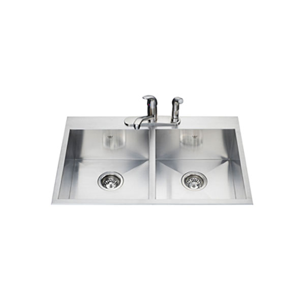 Kindred Double Bowl Topmount Sink