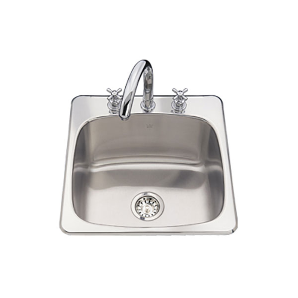 Kindred Utility Topmount Sink