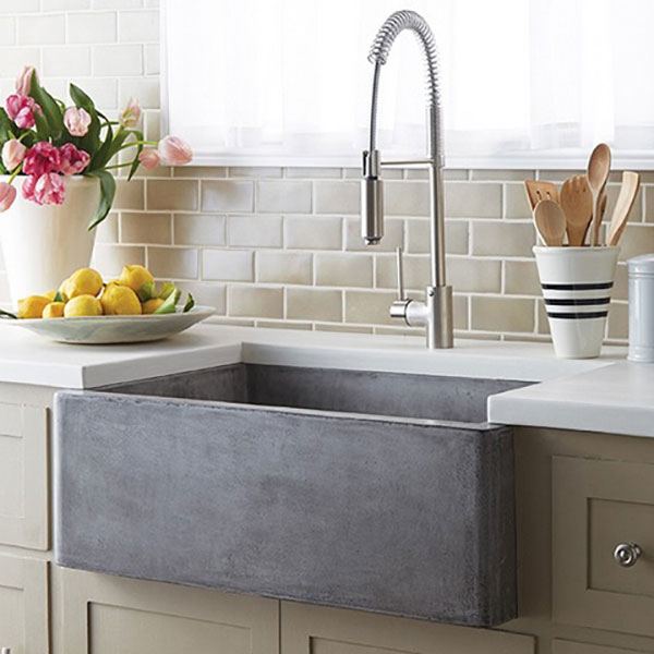 Farm House Cement Sink