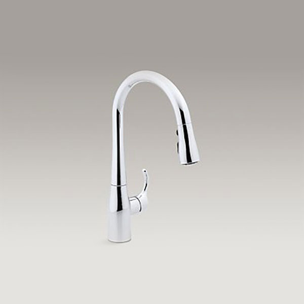 Kohler Simplice Single Hole Faucet K-597