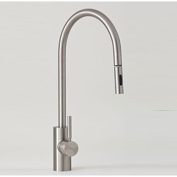 Waterstone Contemp Fulton PLP Single Hole Faucet Chrome